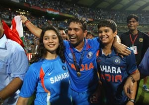 Won't force Arjun to become a cricketer: Sachin