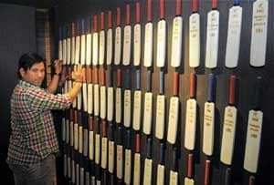 Sachin Tendulkar inaugurates cricket museum