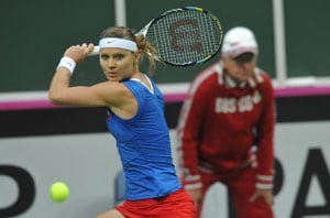 Czech Republic close to Fed Cup defence against Serbia