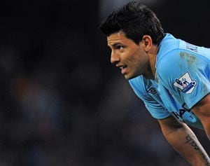Sergio Aguero injury blow for Manchester City