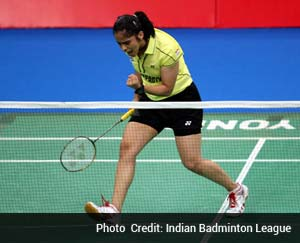 Indian Badminton League: Saina Nehwal leads Hyderabad Hotshots to 4-1 victory over Pune Pistons