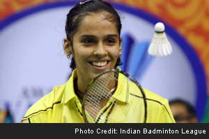 Indian Badminton League: Saina Nehwal routs opponent but Hyderabad still lose to Delhi
