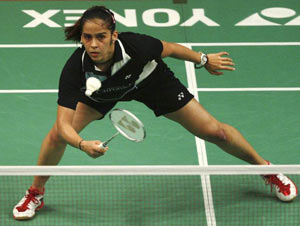 Malaysia Open: Saina Nehwal sails to quarters, injured Parupalli Kashyap crashes out