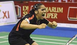 Who is Saina Nehwal?