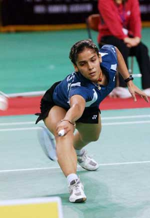 Saina, Jayaram, Gurusaidutt in Hong Kong Open quarters
