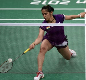 London 2012 Badminton: Saina Nehwal through to the quarter-final