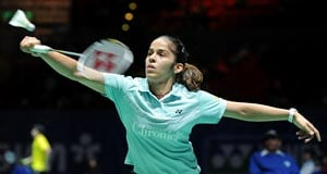 Saina crashes out in round 1 of India Open