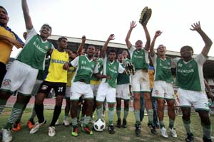 Salgaocar are I-League champions