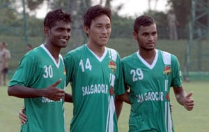 Salgaocar F.C. bow out of I-League title race after draw against Sporting clube de Goa