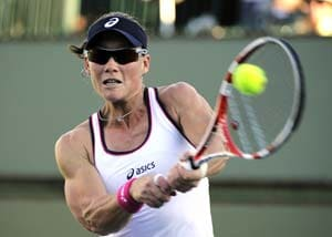 Sam Stosur, Caroline Wozniacki advance at Charleston WTA