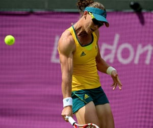 London 2012 Tennis: Stosur's woes on grass continue