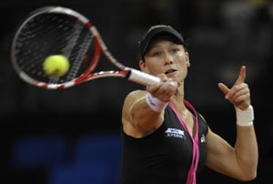 Stosur to face Sharapova in Stuttgart quarters