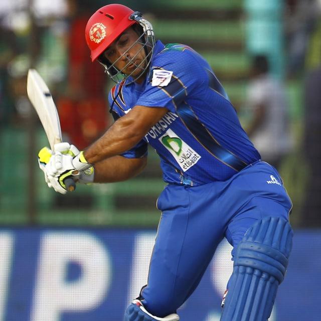 Live cricket score: Bangladesh vs Afghanistan - Samiullah Shenwari