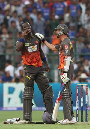 I'd still prefer bowling to Shane Watson rather than Chris Gayle, says Darren Sammy