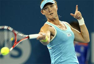 Samantha Stosur gives Australia 1-0 lead over Germany
