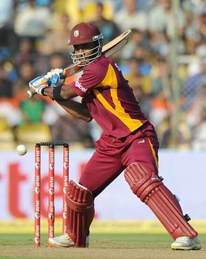 Marlon Samuels helps West Indies beat Bangladesh in third ODI