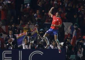 Chile, Peru on brink of quarters in Copa America