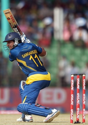 Asia Cup: Kumar Sangakkara completes 12,000 ODI runs for Sri Lanka