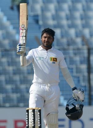 Chittagong Test: Kumar Sangakkara's 34th century takes Sri Lanka to 314/5 vs Bangladesh