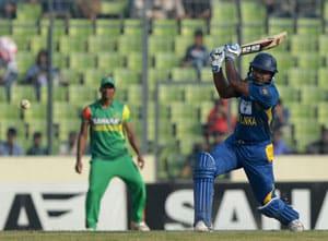 2nd ODI: Kumar Sangakkara's ton seals one-day series for Sri Lanka