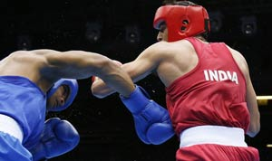 London 2012 Boxing: Sumit Sangwan loses but India lodges protest
