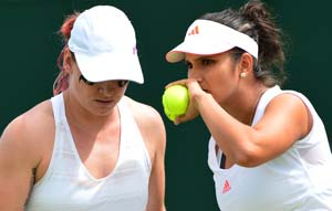 Sania Mirza and Bethanie Mattek-Sands enter Stuttgart WTA semis