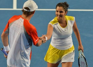 Australian Open: Sania Mirza-Bob Bryan advance to second round