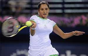 Sania Mirza and Bethanie Mattek-Sands in Miami quarters, Rohan Bopanna out