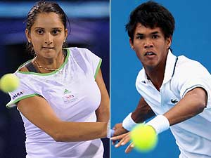 Sania climbs 17 places, Somdev drops one