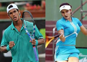 Sania Mirza improves ranking by two places