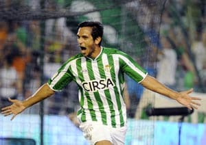 Ten-man Real Betis go top with perfect record