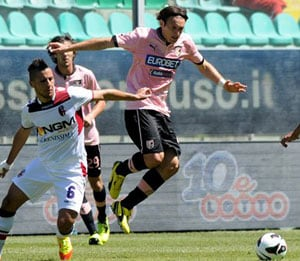Palermo draw 1-1 against Bologna in Serie A