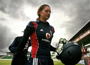 Sarah Taylor, England's woman cricketer, could play for Sussex men's team
