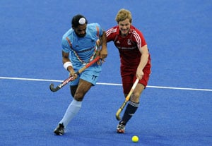 India lose to Great Britain in Olympic test event