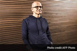 Satya Nadella, Microsoft's new CEO, credits cricket for professional success