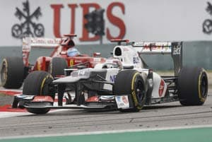 After Malaysian high, Sauber back on earth in Chinese GP
