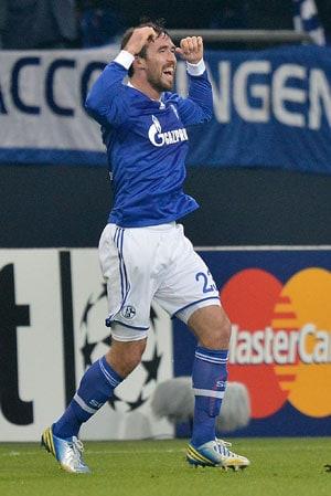 Schalke defeat Olympiacos in Champions League