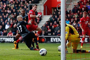 Saints boost survival bid with crushing Liverpool win
