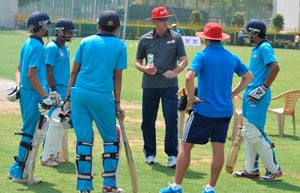 Delhi Daredevils' conduct coaching camp for schoolboys