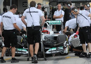 Michael Schumacher takes blame for crash