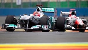 Schumacher set for big race in Belgium