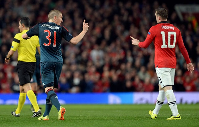 Didn't dive to get Bastian Schweinsteiger sent off, says Wayne Rooney