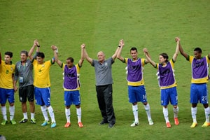 Brazil fired up but not complacent, says coach Luiz Felipe Scolari