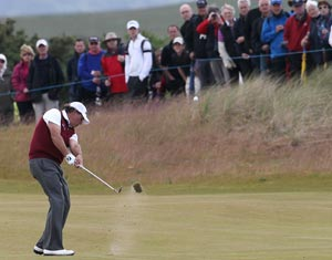 Storms bring chaos to Scottish Open