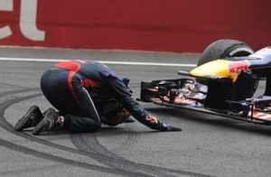 Sebastian Vettel's celebrations cost Red Bull 25,000 euros