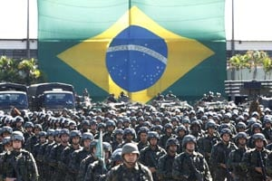 Brazil deploys elite force in Confederations Cup host cities