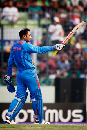 ICC upset with Sehwag over jersey