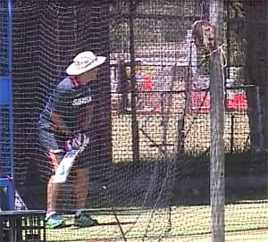 Out-of-form Sehwag nonchalant at nets