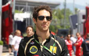 Senna replaces Heidfeld for Belgian GP