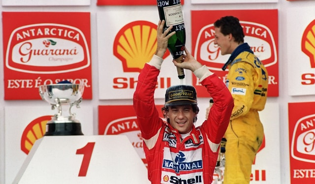Ayrton Senna, the Formula One legend who really cared